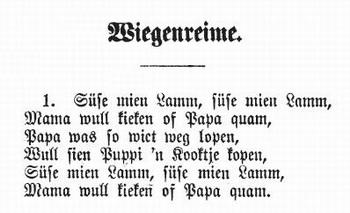 Plattdeutsche Gedichte Und Reime